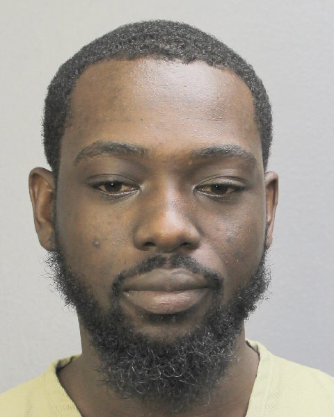 DAVID BARRINGTON GORDON Mugshot / South Florida Arrests / Broward County Florida Arrests