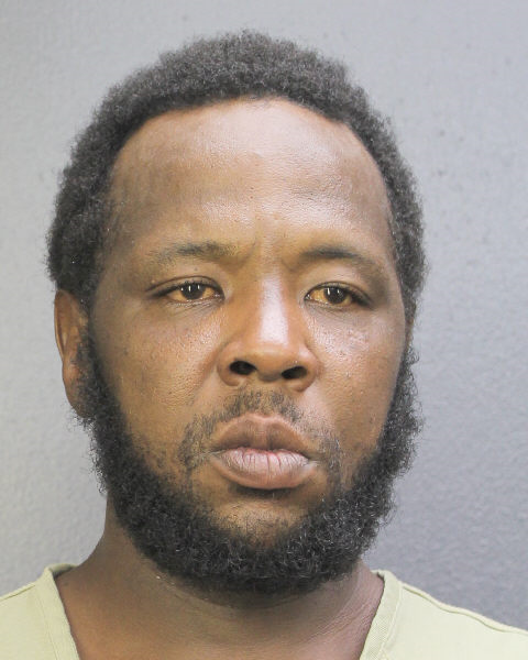 EDDIE LADERRICK RANCHER Mugshot / South Florida Arrests / Broward County Florida Arrests