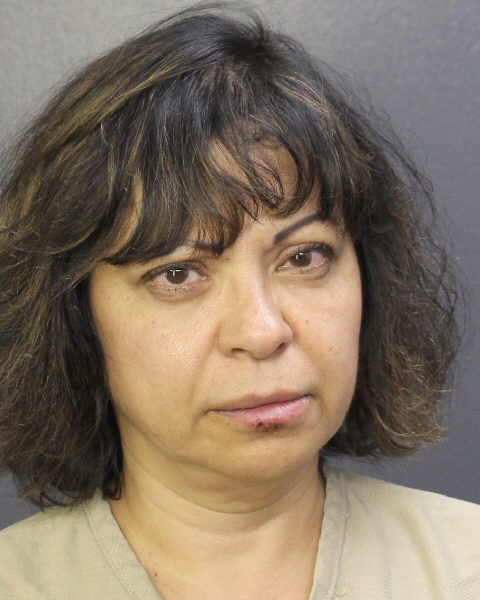 KAREN VALADEZ Mugshot / South Florida Arrests / Broward County Florida Arrests